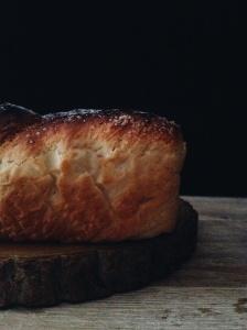 Pan brioche.
