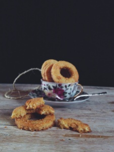 Biscotti rustici alle mandorle.