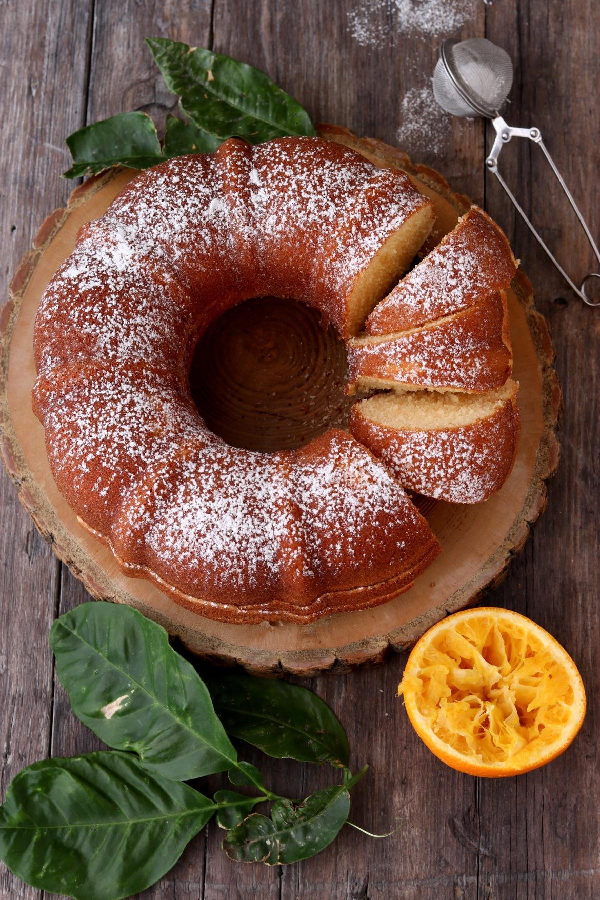 Cake arancia e zenzero