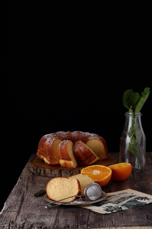 Bundt cake arancia e zenzero